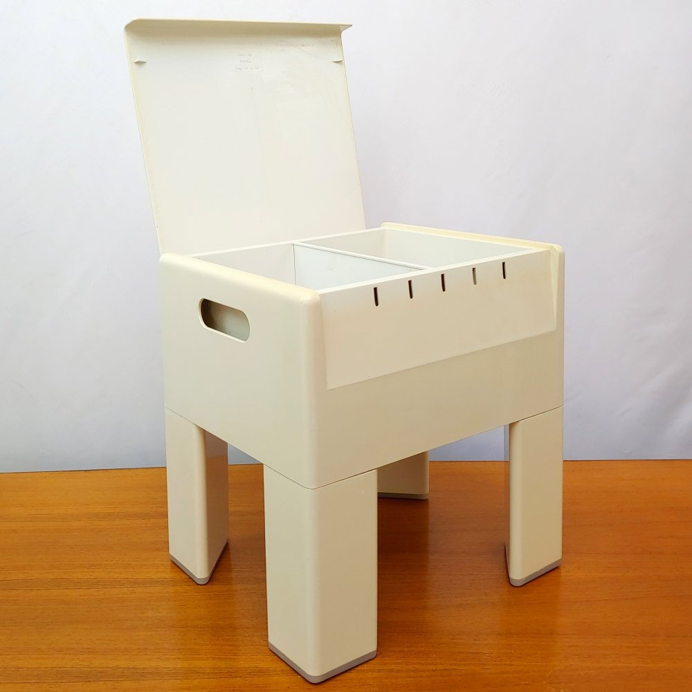 Mid-Century Gedy G-Box Stool Container Box by Olaf von Bohr, 1971
