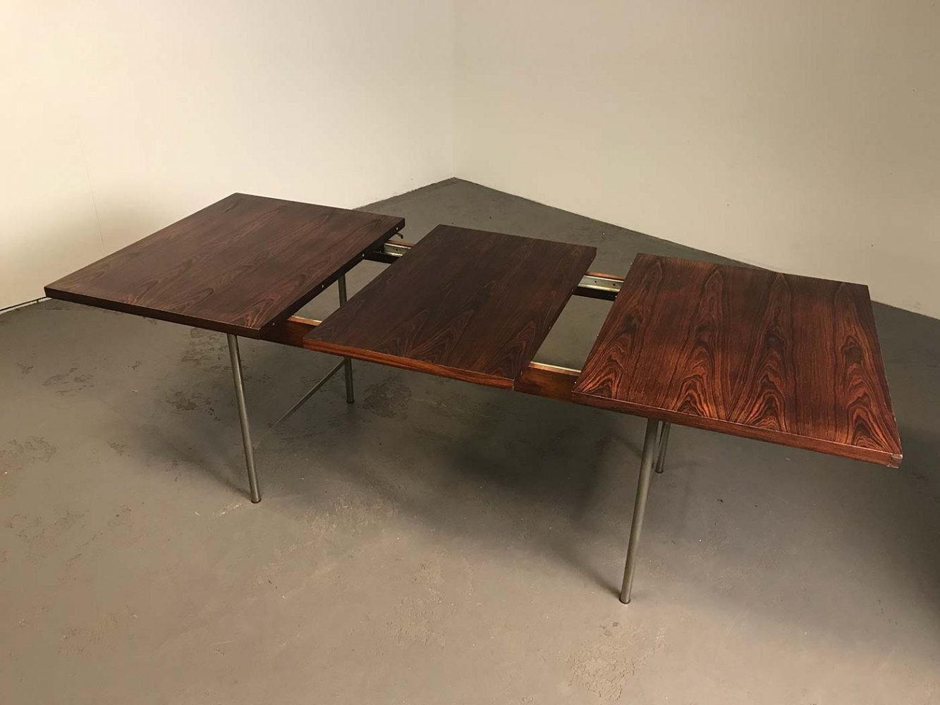 SM08 extendable dining table by Cees Braakman for Pastoe, 1964