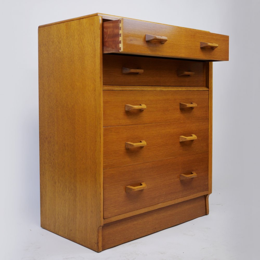 Mid-Century Brandon Oak Chest of Drawers by G Plan, 1950s