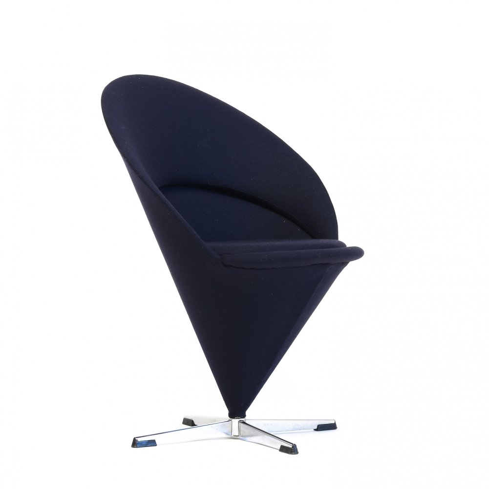 Cone lounge chair by Verner Panton for Fritz Hansen, 1970s