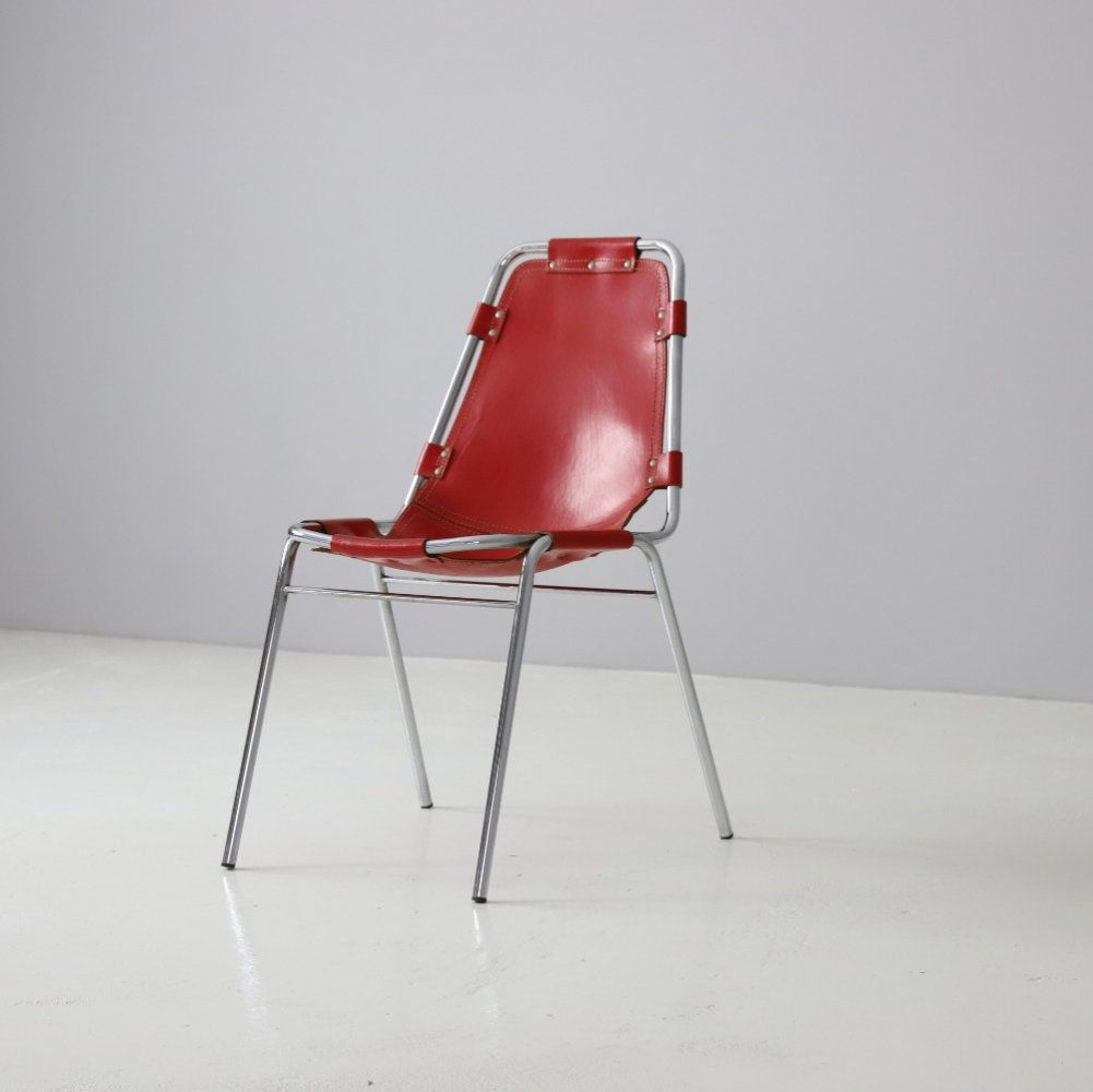 Dining chair selected by Charlotte Perriand for the Les Arcs ski resort, 1960s