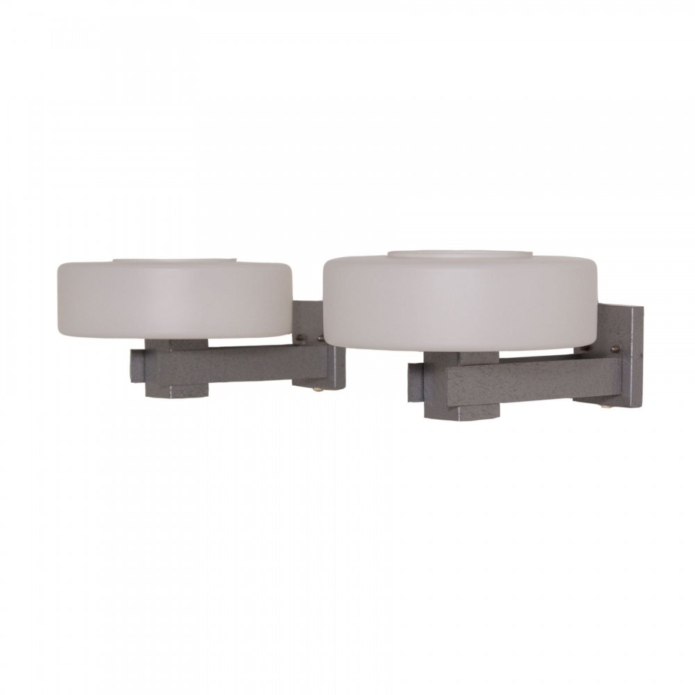Pair of Counterpoint Wall Lamps C-1626 by Raak, 1960s