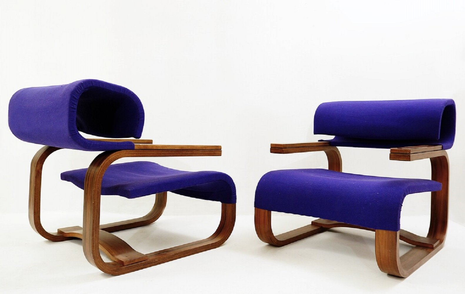 Pair of Armchairs by Jan Bocan for Thonet, Stockholm 1972