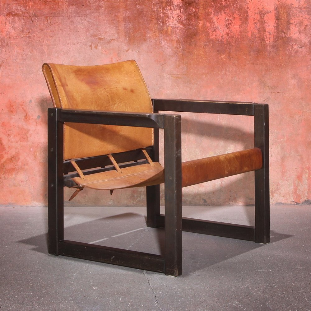 Diana Leather Armchair by Karin Mobring for Ikea, 1970s