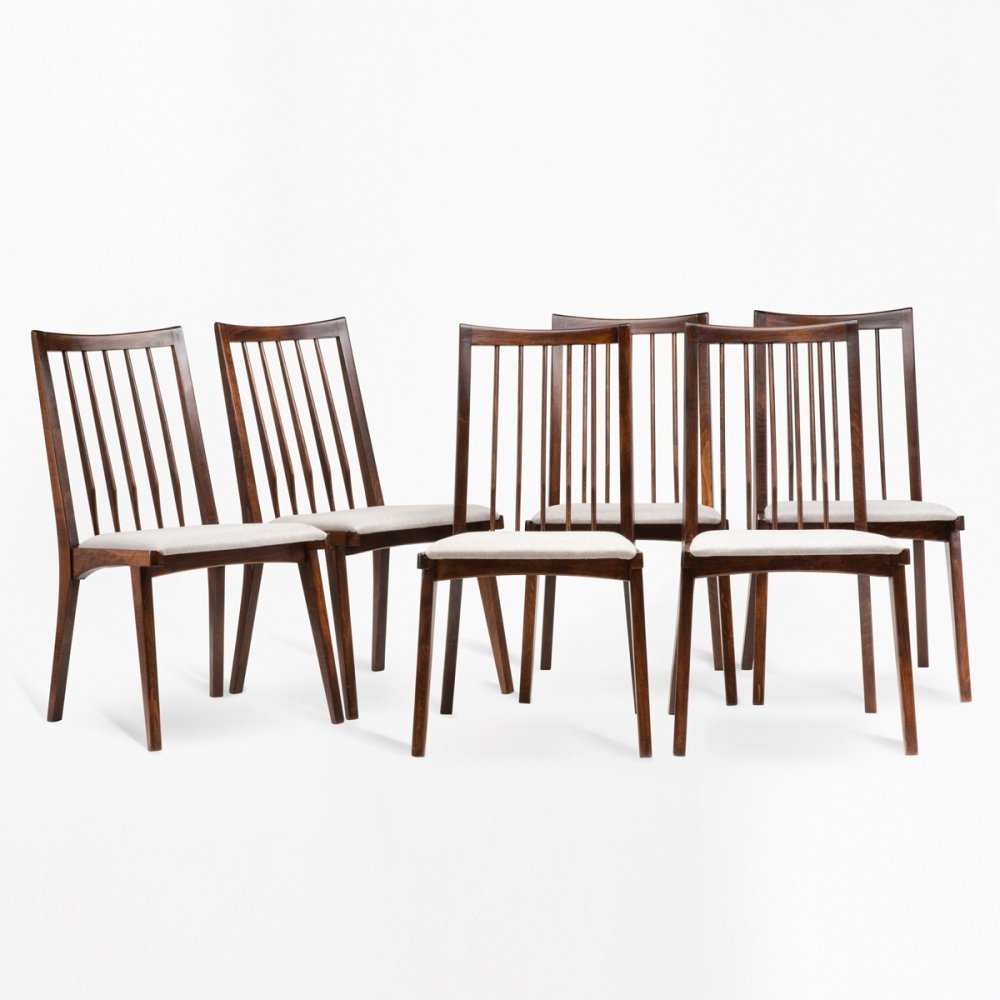 Set of 6 chairs by R.T.Hałas, 1960s
