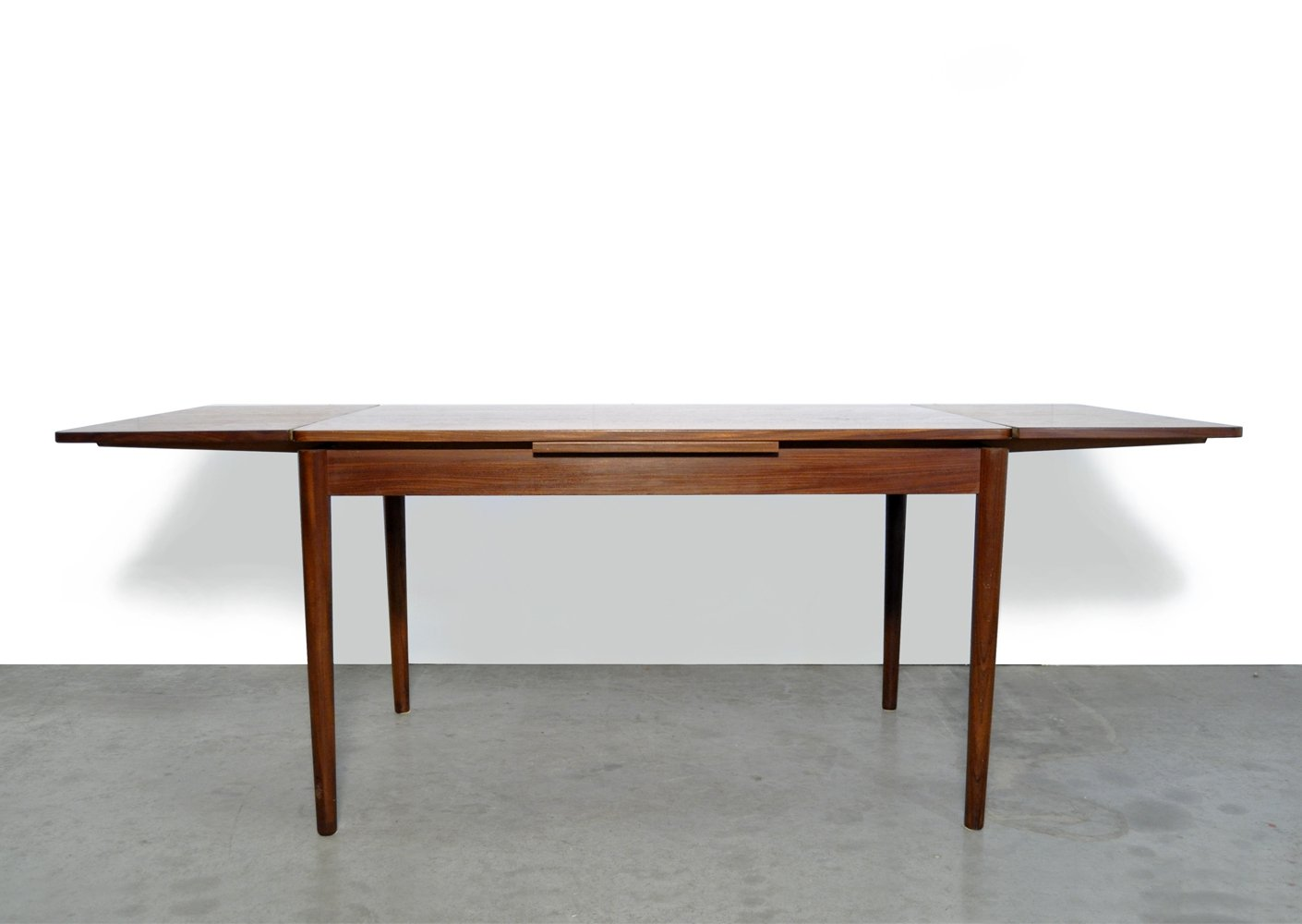 Vintage extendable teak dining table by Cees Braakman for Pastoe, Netherlands 1960s