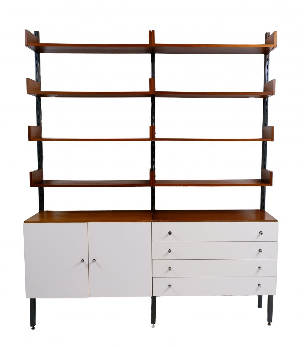 Vintage wall unit by Simpla Lux, 1960s