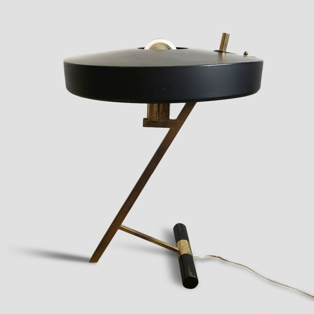 Z or Diplomat Lamp by Louis Kalff for Philips, 1950s