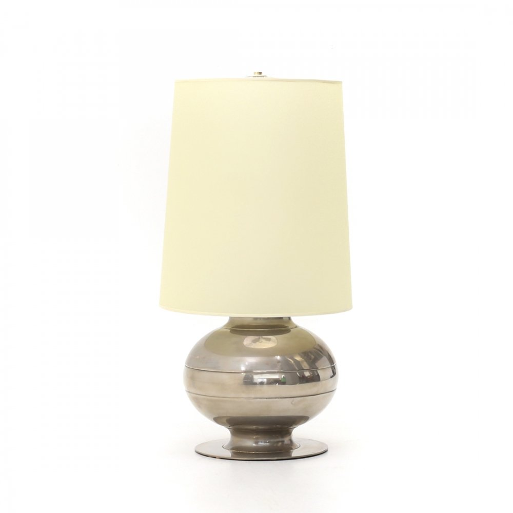 Table lamp with parchment diffuser by Luci, 1970