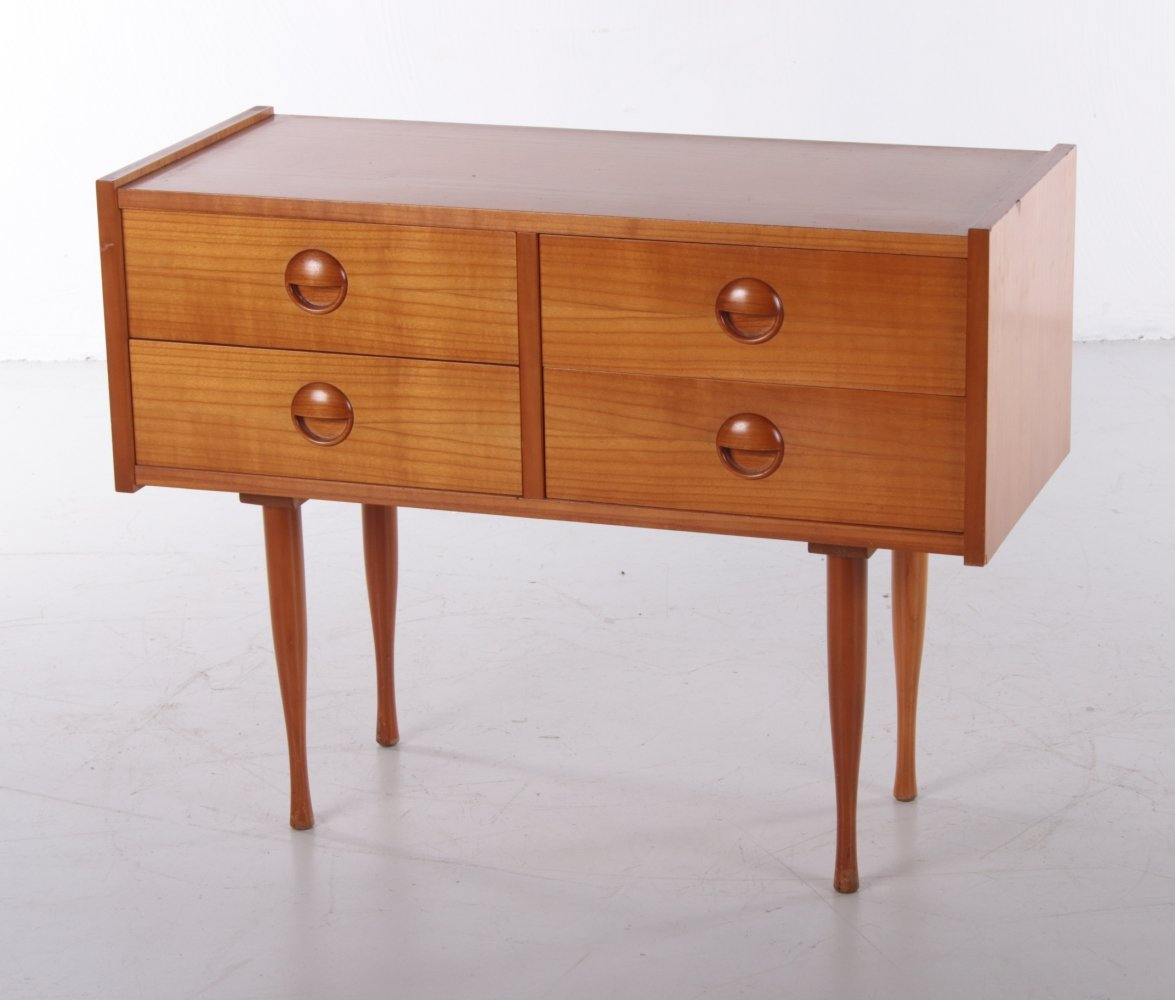 Danish small cabinet with drawers, 1960s