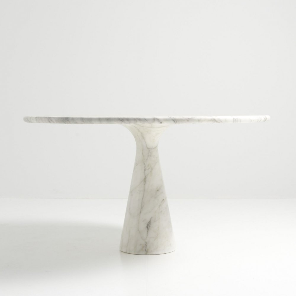 Pedestal Dining Table by Angelo Mangiarotti for Skipper, Italy 1970