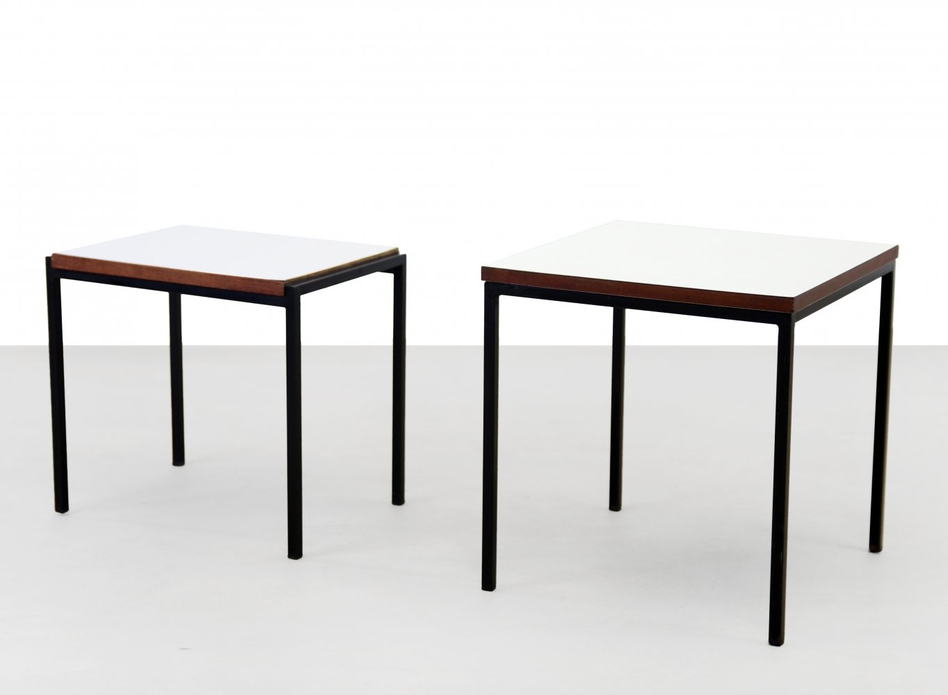 Pair of side tables by Cees Braakman for Pastoe, 1960s