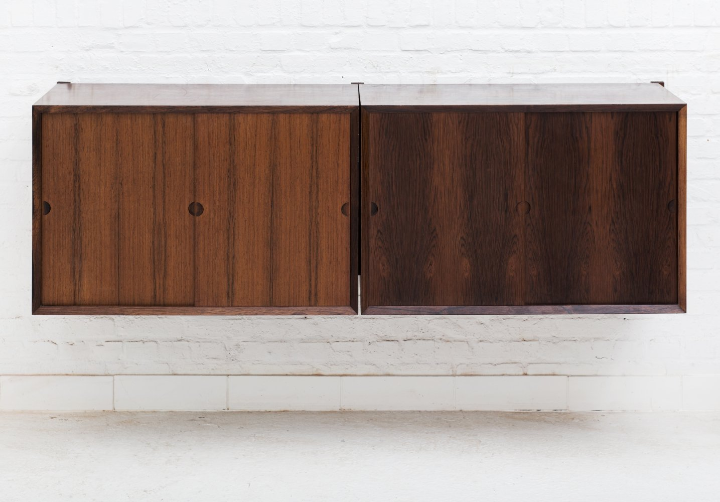 Floating cabinets by Poul Cadovius for Cado, Danish design 1960