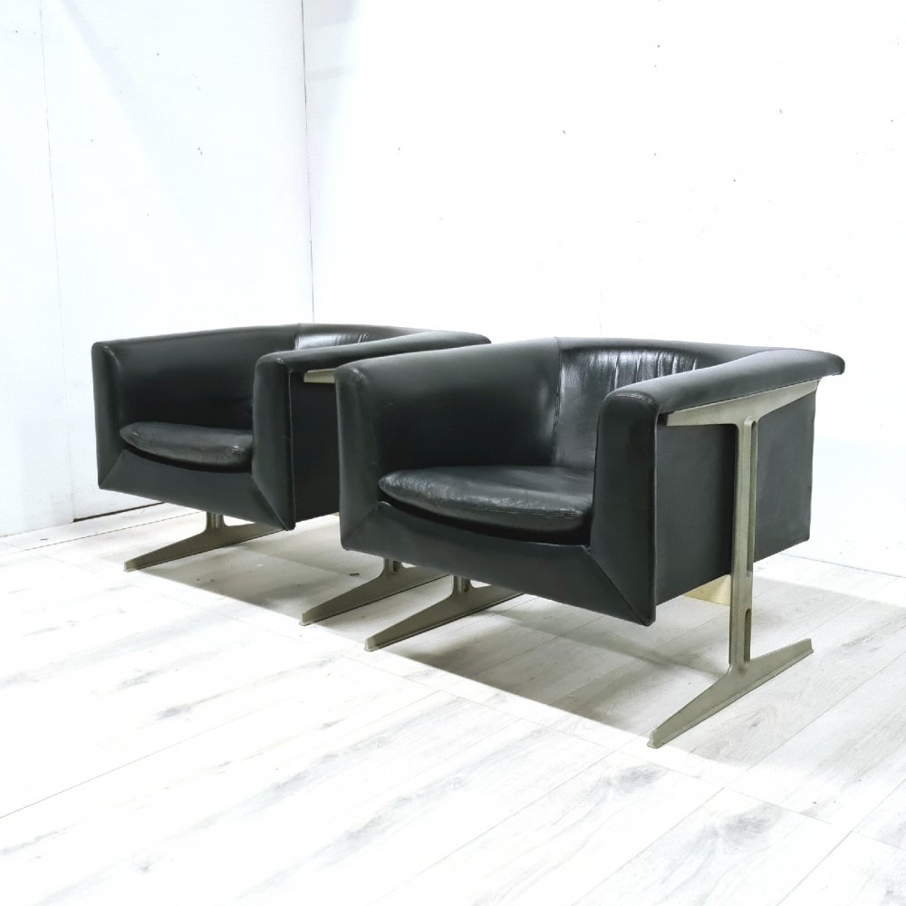 Original 042 prototype lounge chair by Geoffrey Harcourt for Artifort, NL 1963