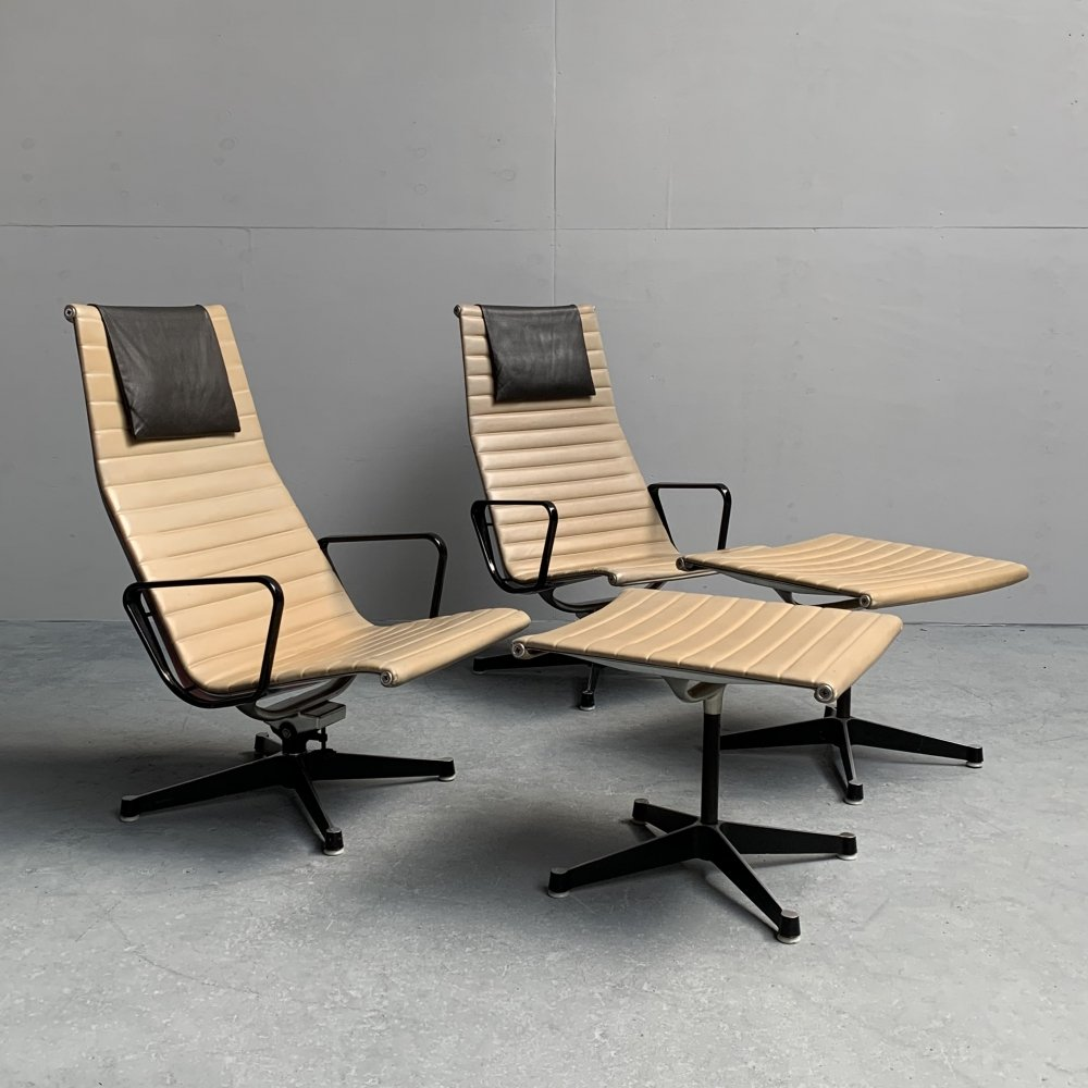 EA 124/125 lounge chair by Charles Eames for Herman Miller, 1960s