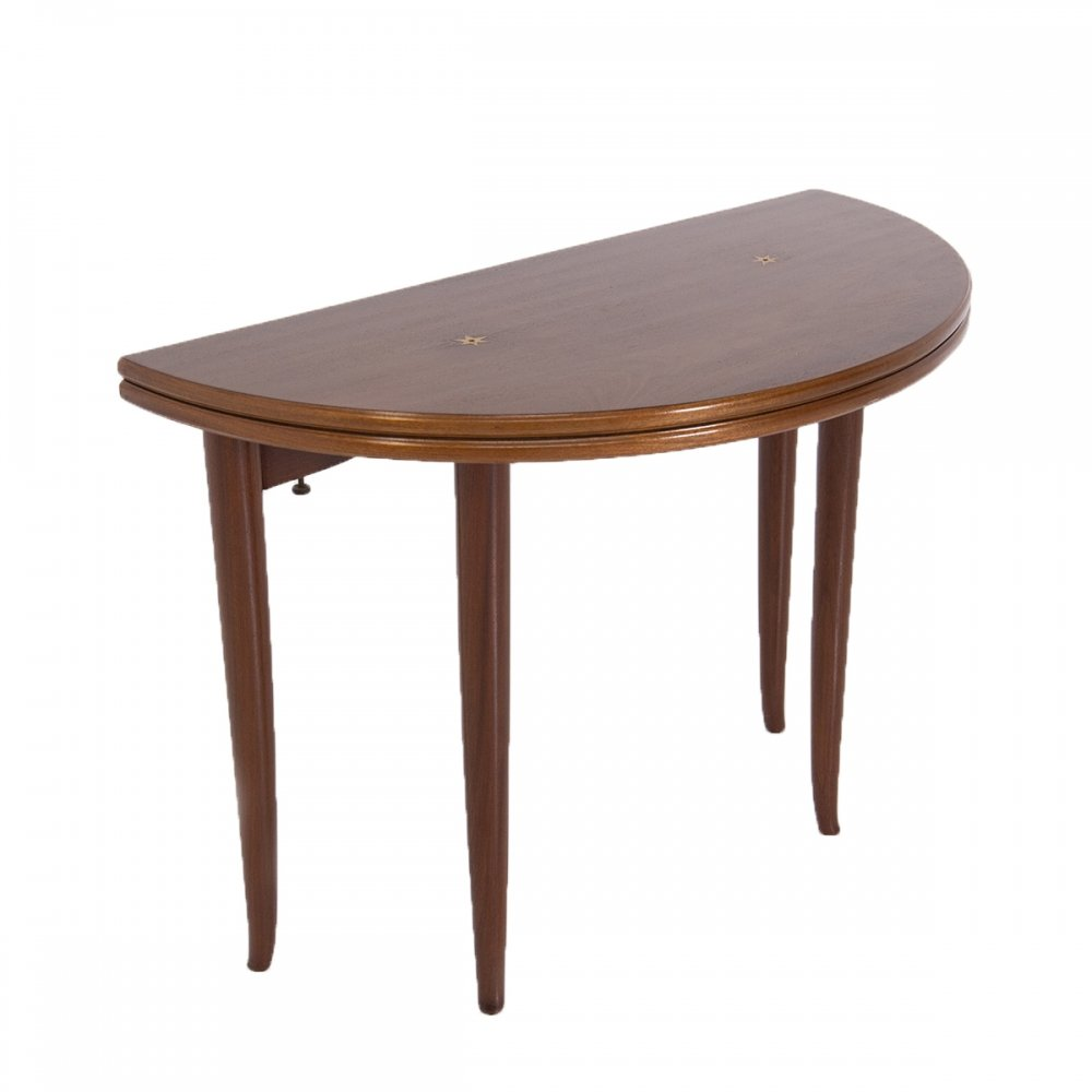 Italian Console & Game Table by Paolo Buffa