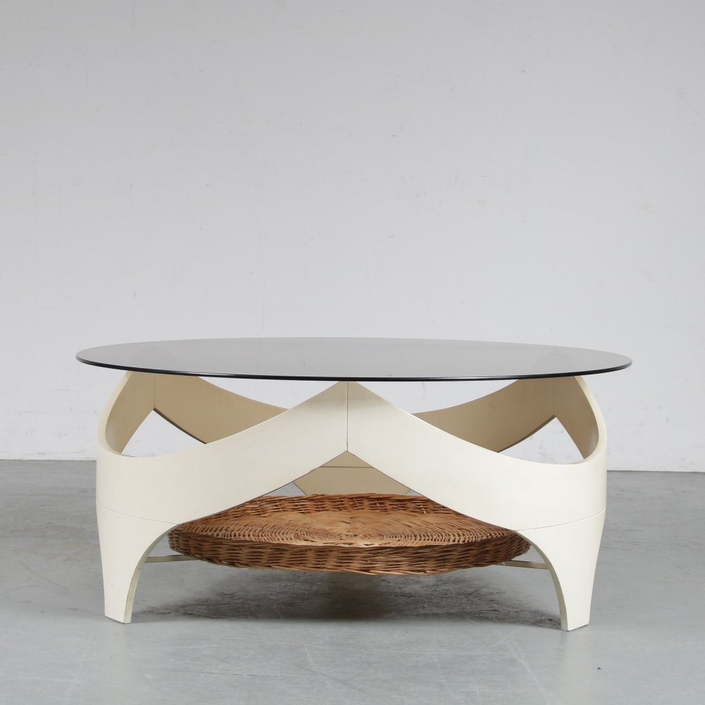 1970s Space age coffee table, Netherlands