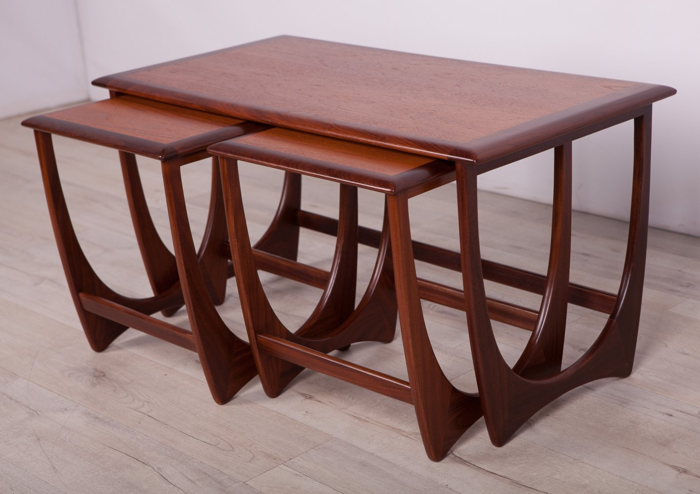 Set of 3 Nesting Tables by Victor Wilkins for G-Plan, 1960s