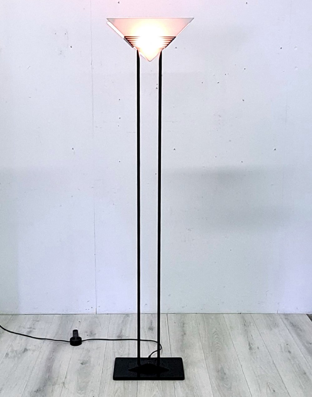 Post Modern floor lamp by Barbieri & Marianelli for Tronconi, italy 1970s