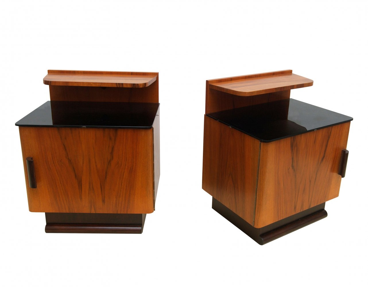 Pair of Mid Century Bedside Tables, 1950s