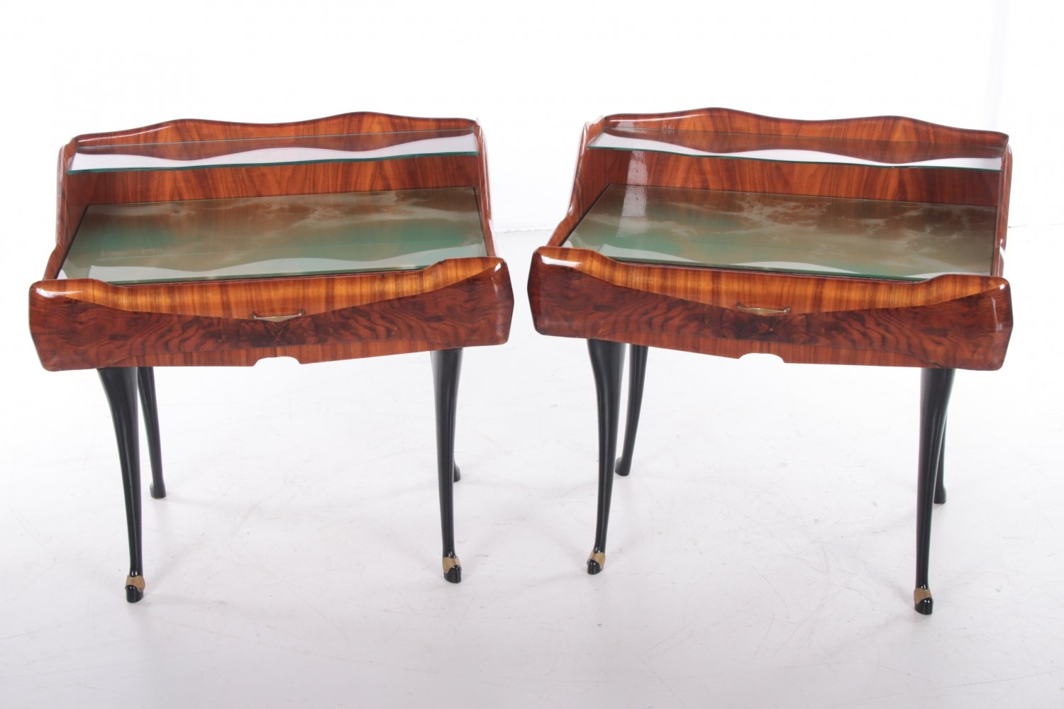Mid-Century Modern set of bedside tables by Paolo Buffa, Italy 1950s