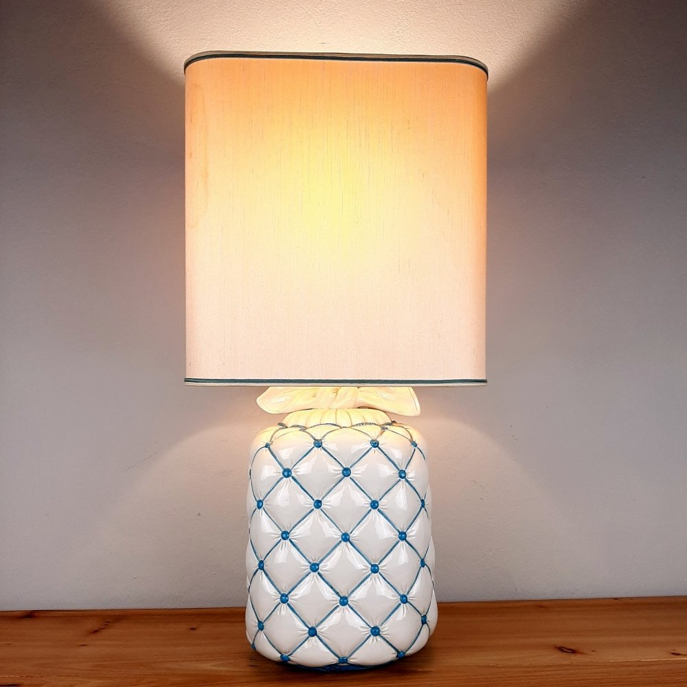 Vintage ceramic table lamp, Italy 1960s