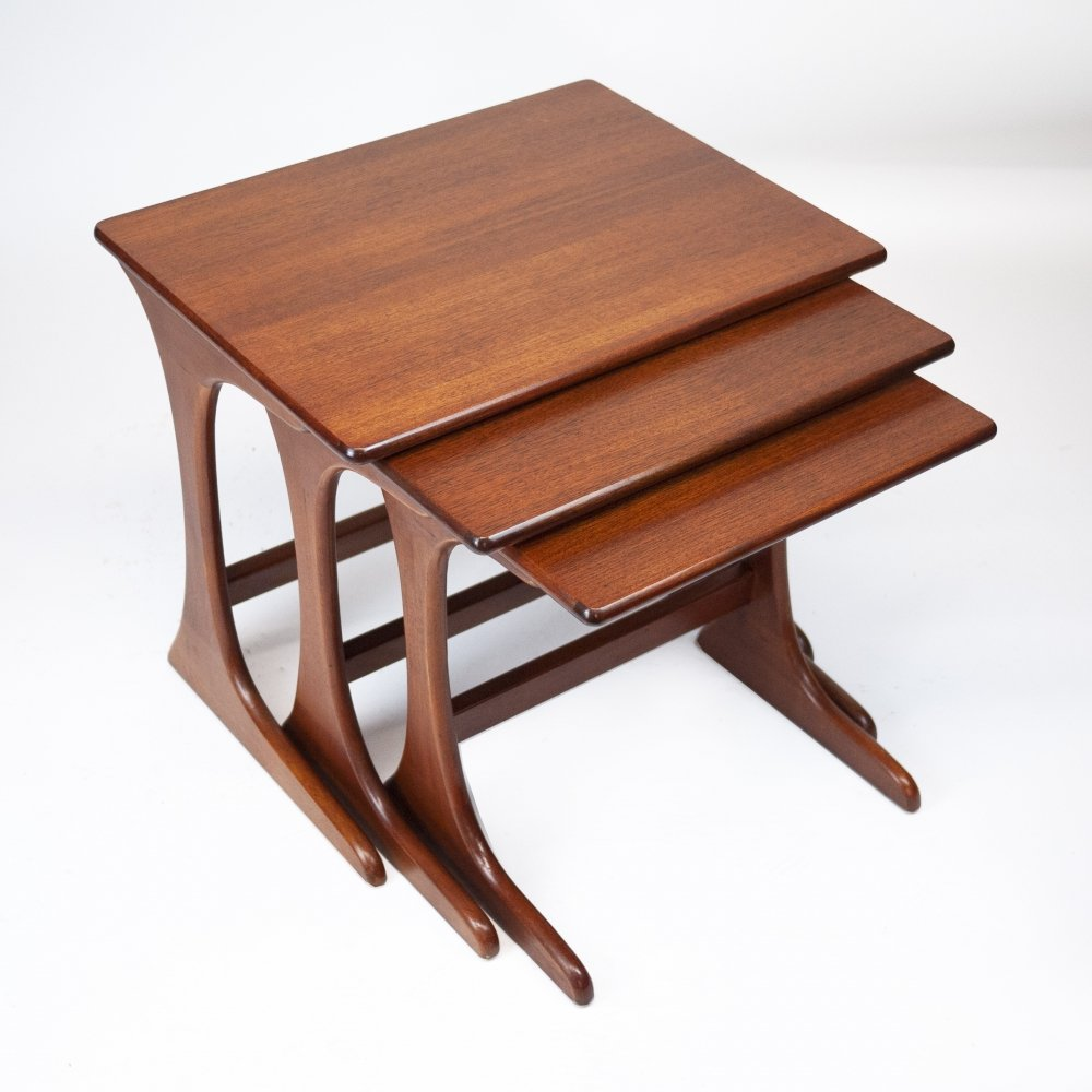Nesting Tables by Victor Wilkins for G Plan, 1970s