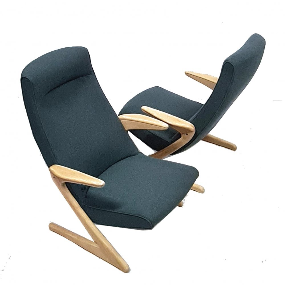 Triva Z chairs by Bengt Ruda for NK, Sweden 1950s