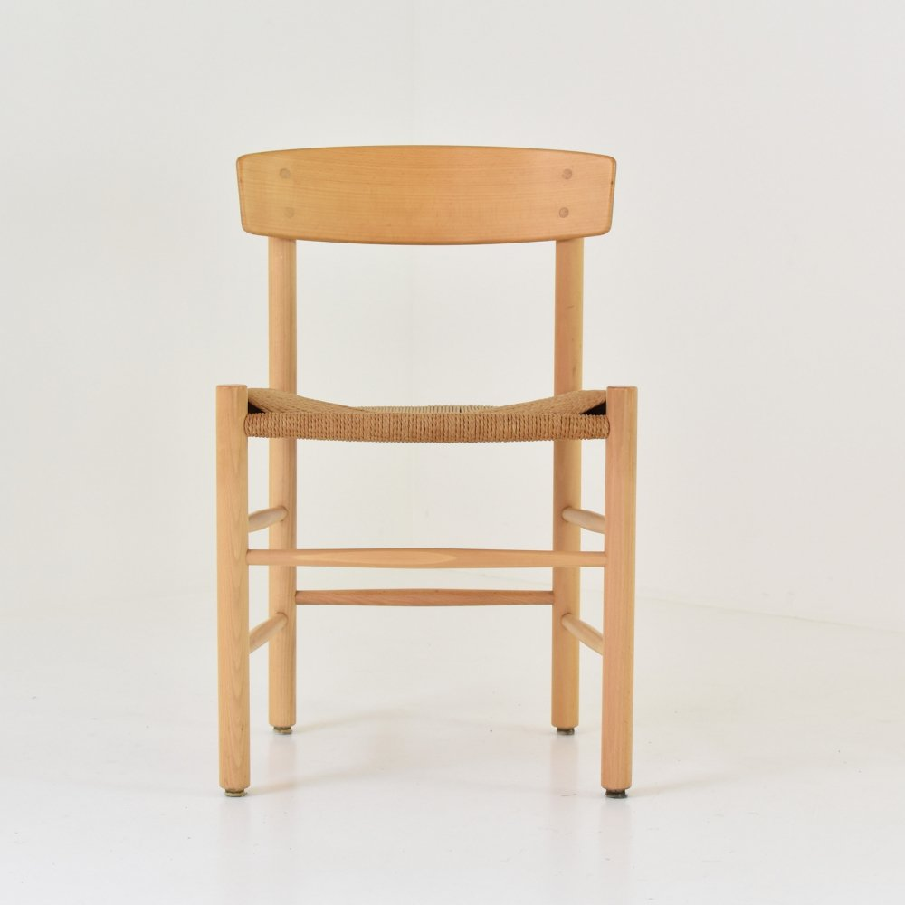 Set of 4x J39 dining chairs by Børge Mogensen for FDB Møbler, Denmark 1960