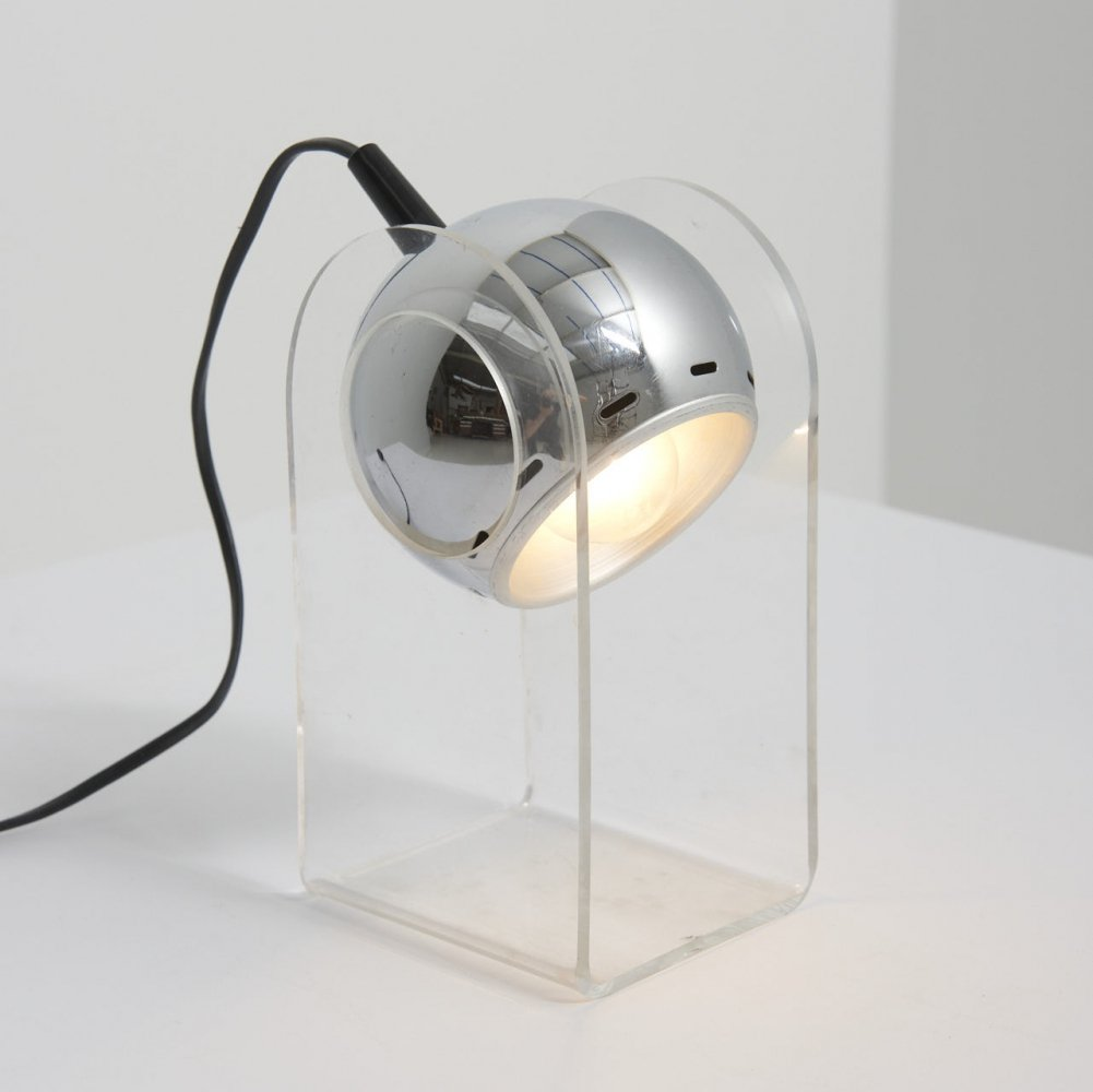 Space Age Table Lamp by Insta GmbH, Germany 1970