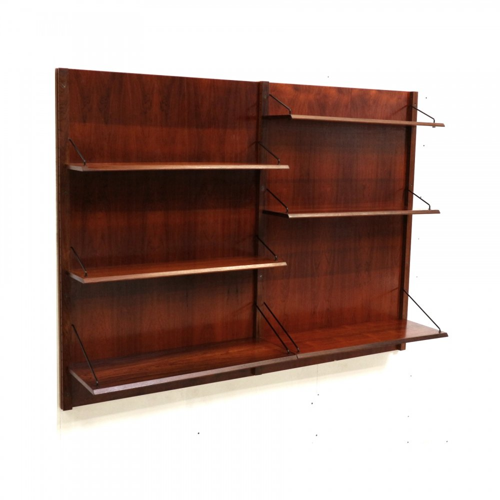 Vintage rosewood wall system by Topform, 1960s