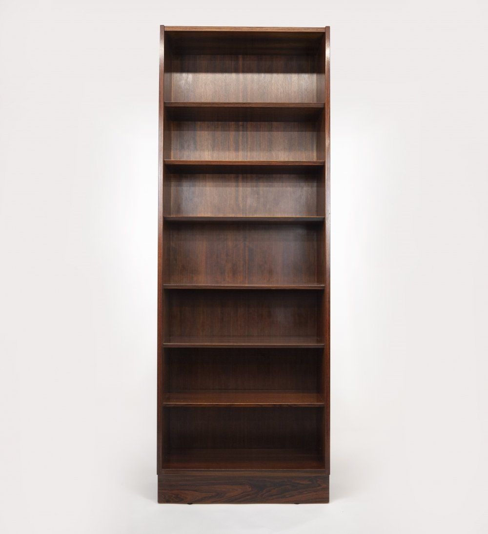 Rosewood Bookcase by Poul Hundevad, Denmark 1960s