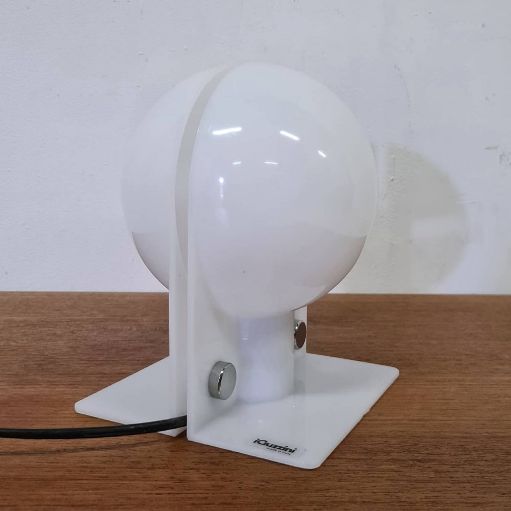 Space age Sirio table lamp by iGuzzini, Italy 1970s