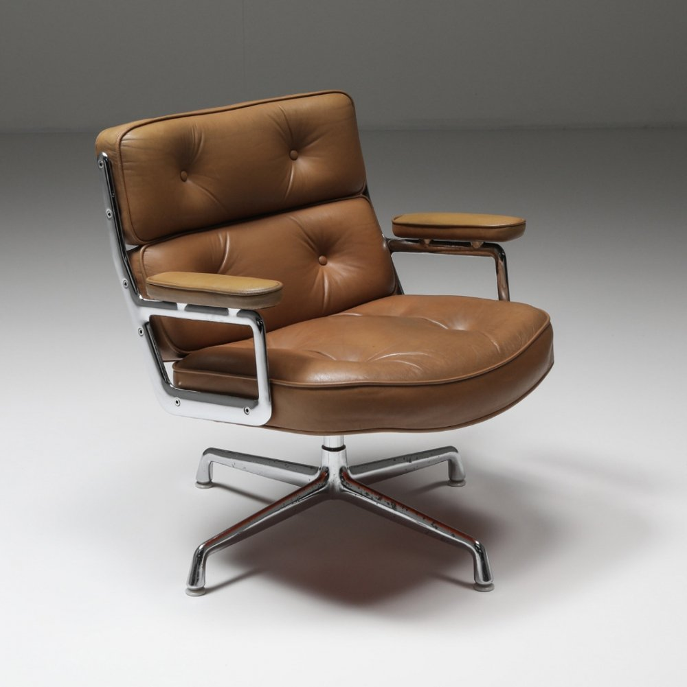 Charles & Ray Eames ES108 Time Life Lobby Chair for Herman Miller, 1970s