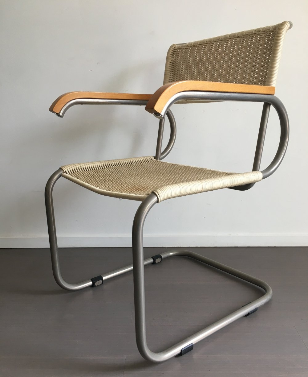 D40 arm chair by Marcel Breuer for Tecta, 1980s