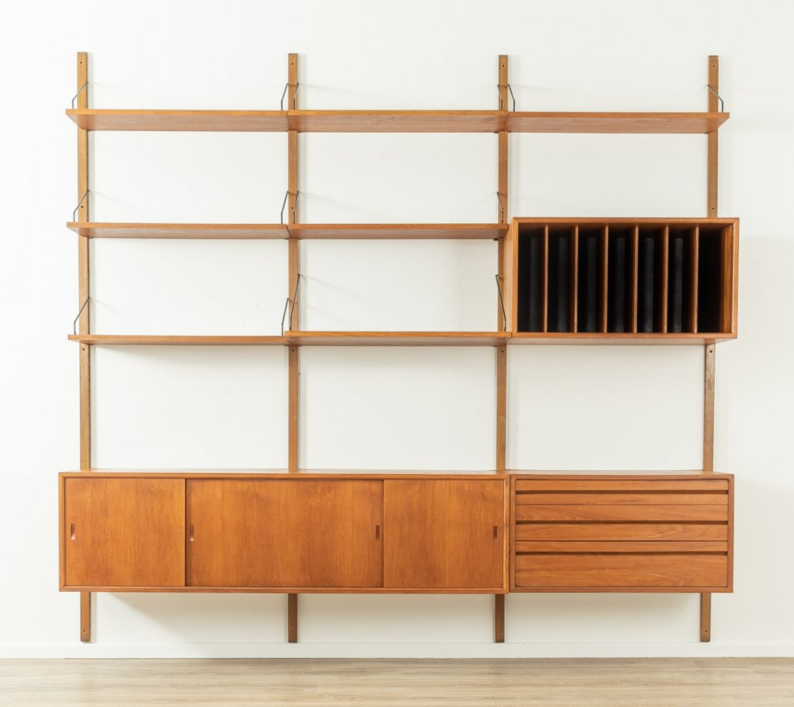 1950s wall unit by Poul Cadovius