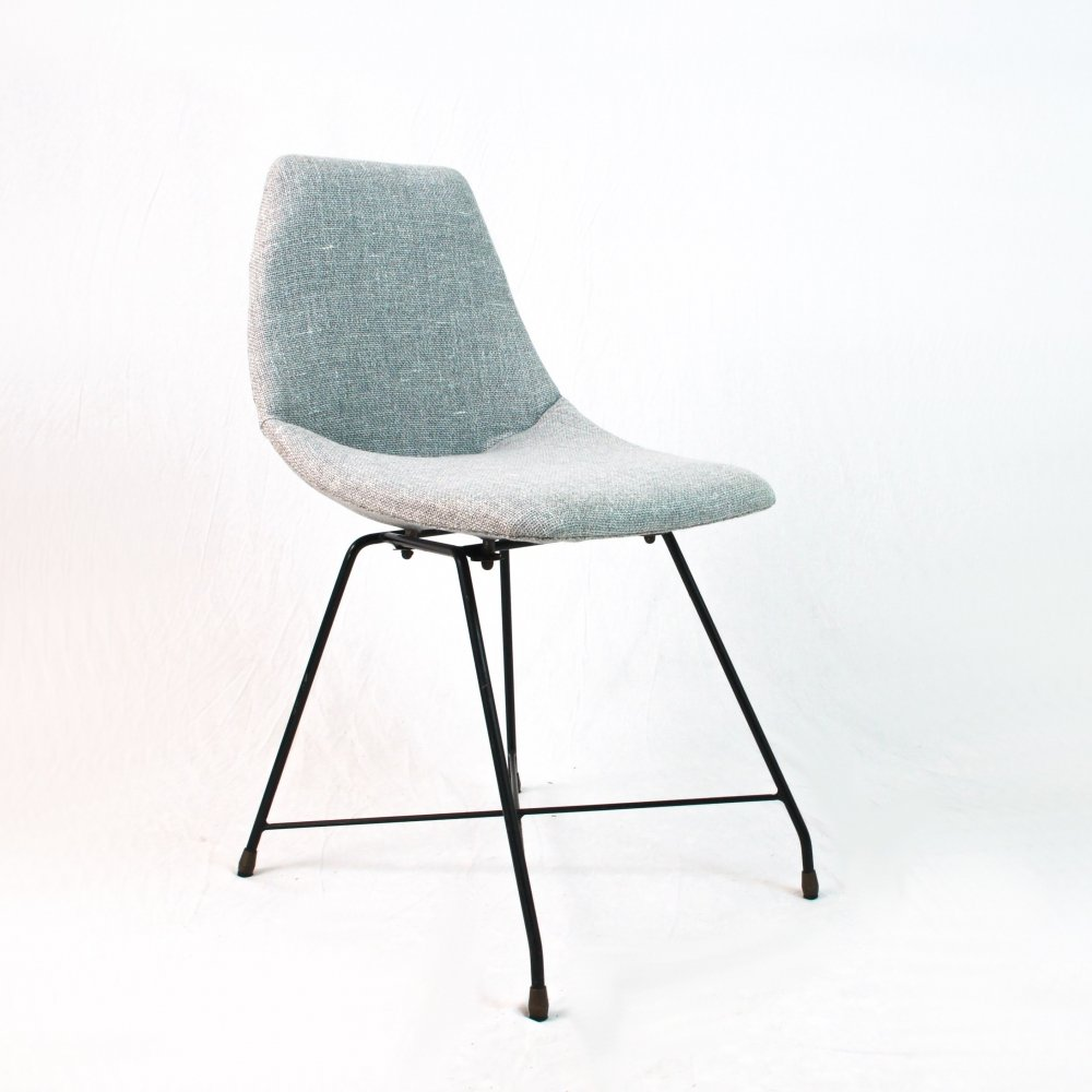 Aster chair by Augusto Bozzi for Saporiti, Italy 1950s