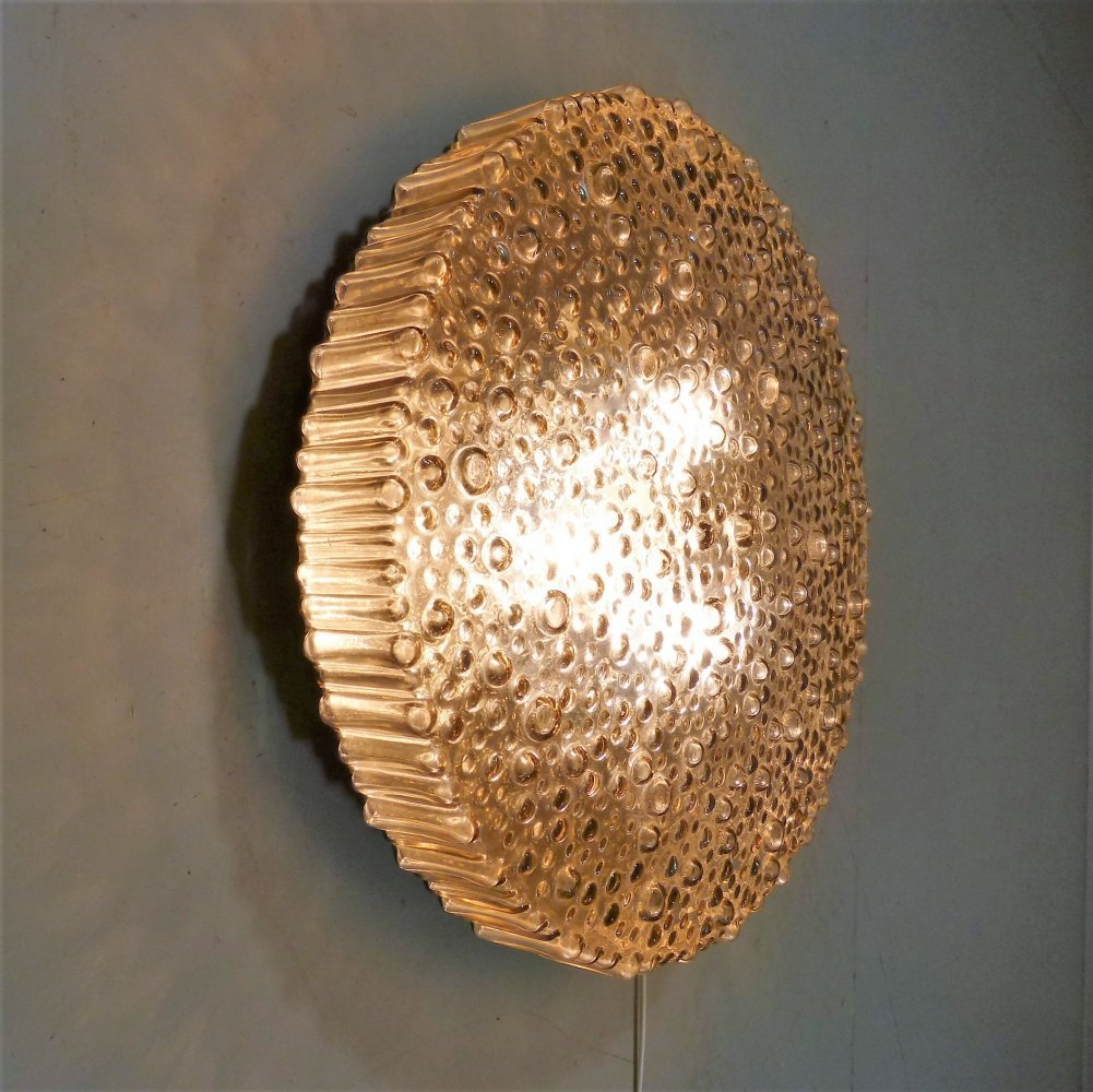 Large P111 ceiling wall lamp by Motoko Ishii for Staff, 1960