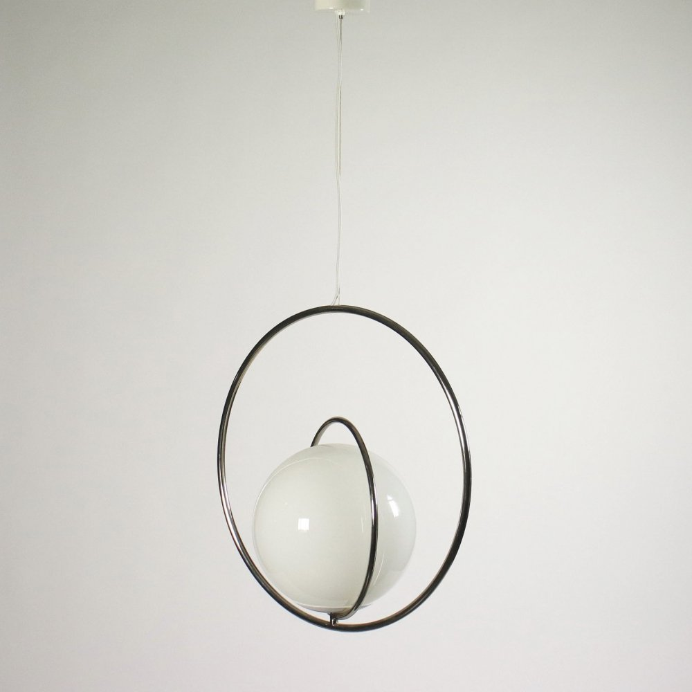 1960s Hanging Lamp by Pia Guidetti for Lumi