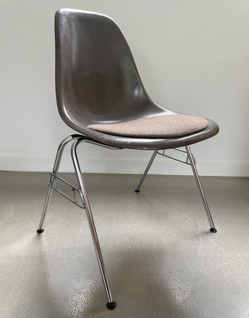 Charles & Ray Eames for Herman Miller DSS stacking chair, 1970s