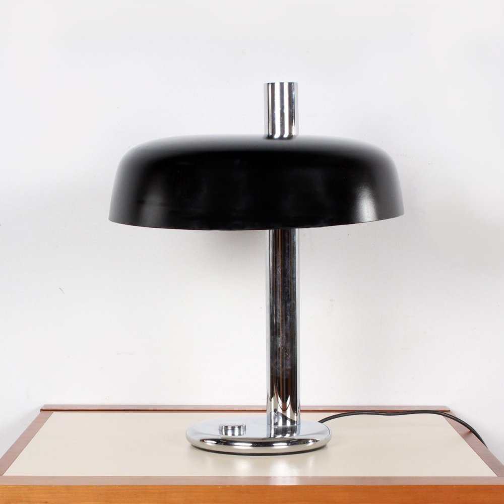 Large size desk lamp by Heinz Pfaender for Hillebrand, 1970s