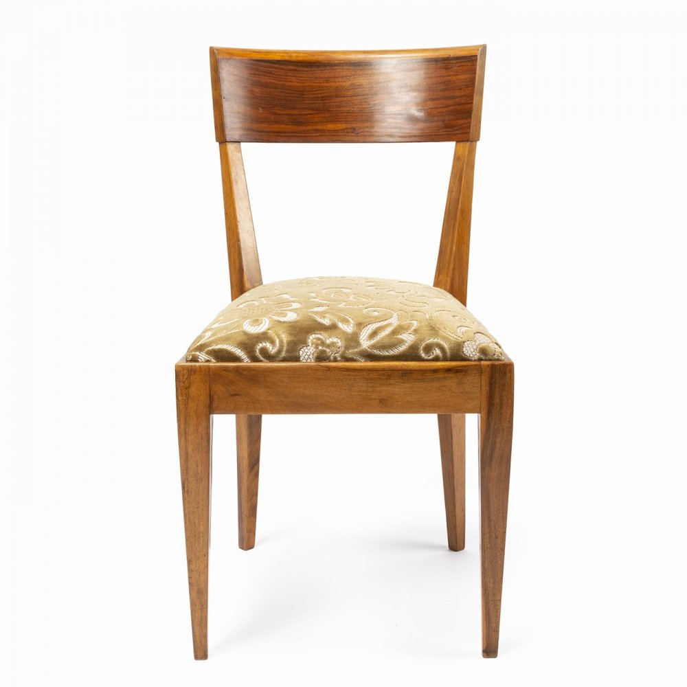 4 x H-40 dining chair by Jindřich Halabala for UP Závody, 1940s