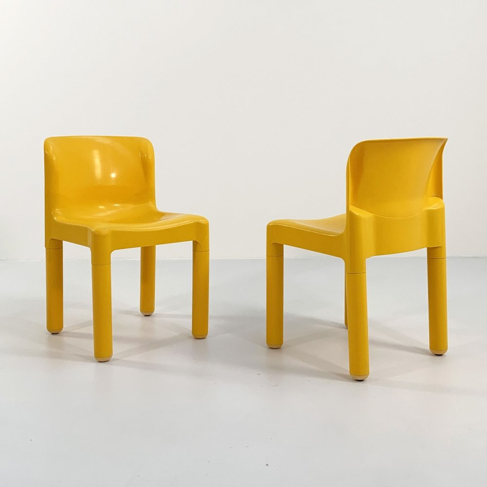 Model 4875 Chair by Carlo Bartoli for Kartell, 1970s