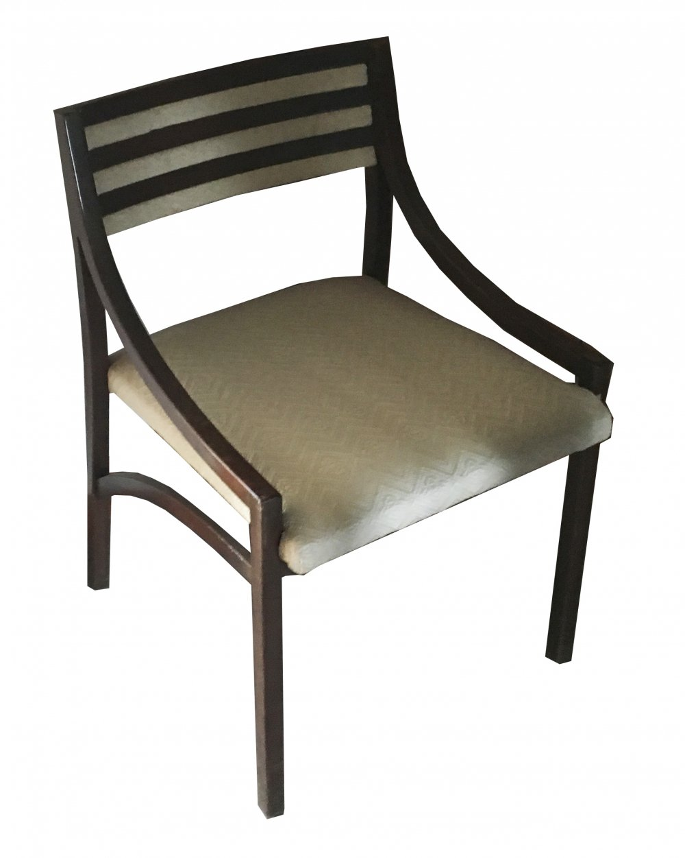 Mod. 110 Ico Parisi Chair in rosewood & Viennese fabric, 1970