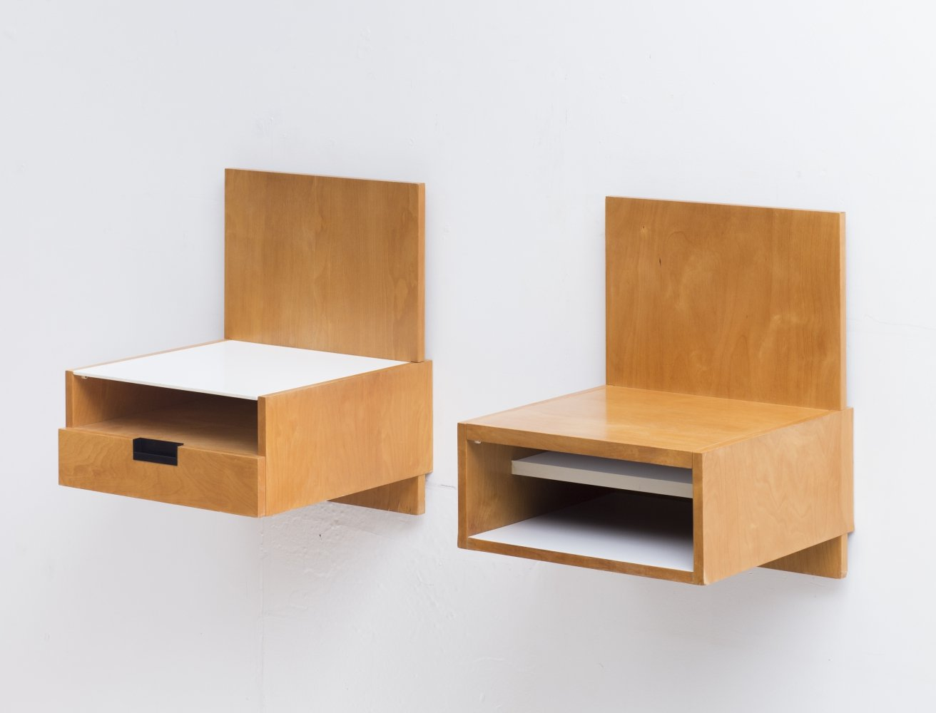 Set of night stands by Cees Braakman for Pastoe, 1960