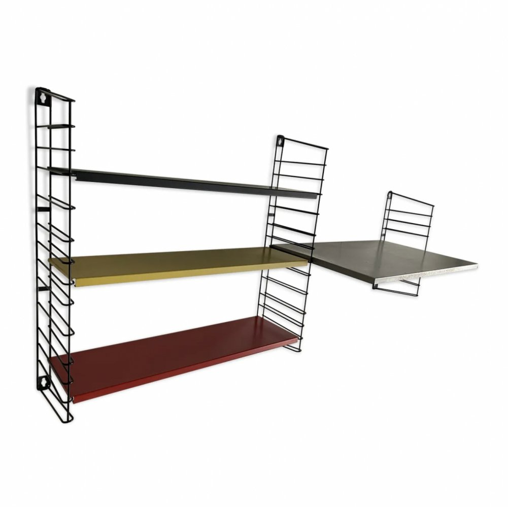 Wall unit by A. Dekker for Tomado, 1960s