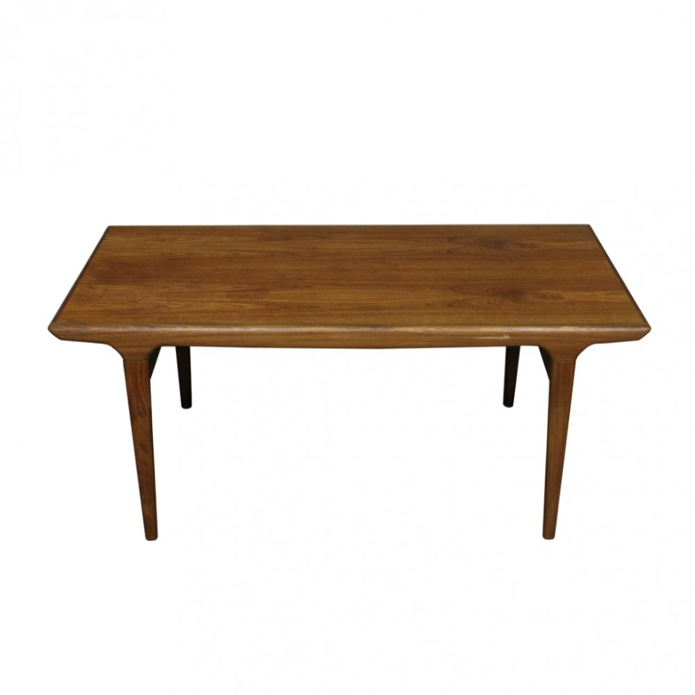 Teak Extendable Dining Table by Johannes Andersen, 1960s