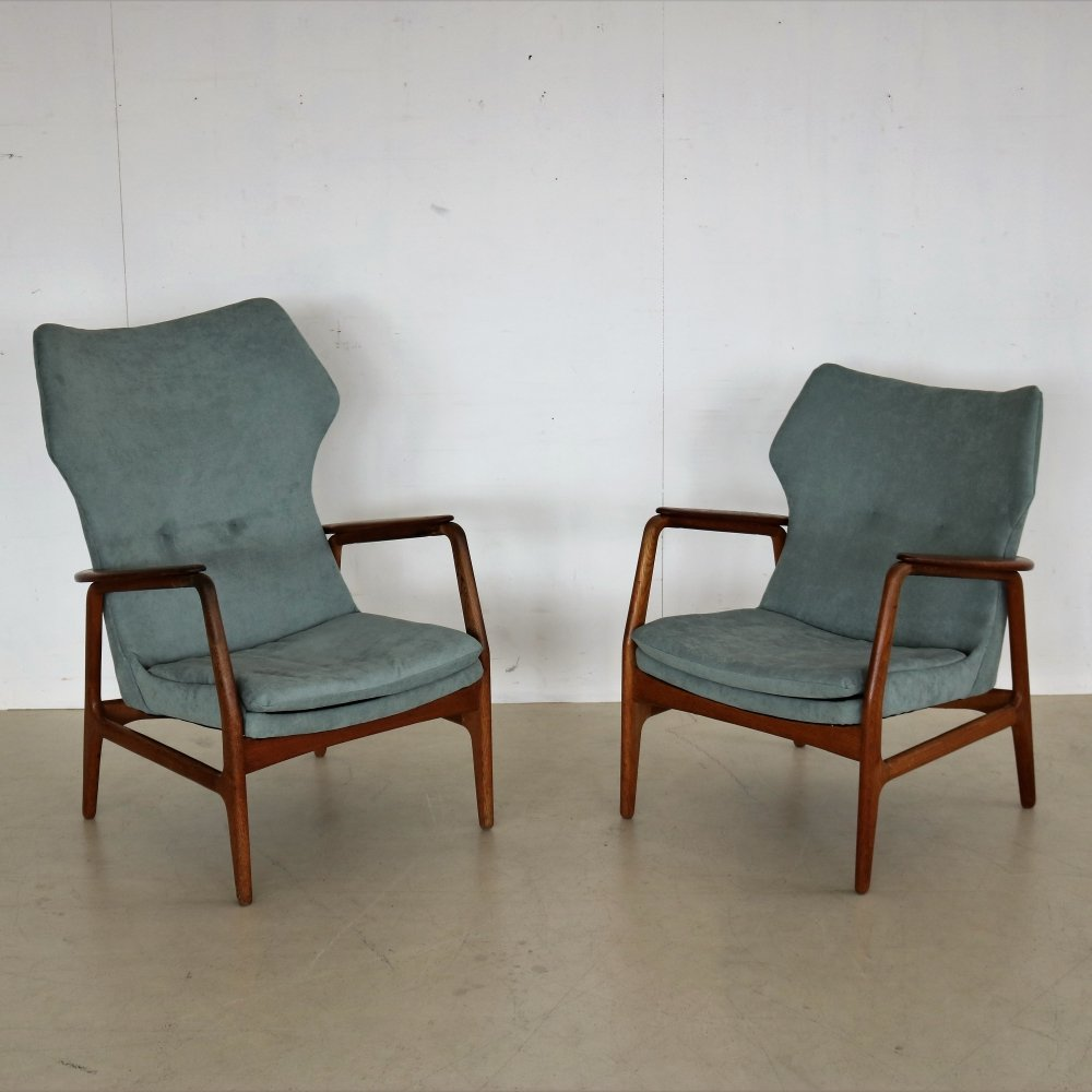 Pair of arm chairs by Aksel Bender Madsen for Bovenkamp, 1960s
