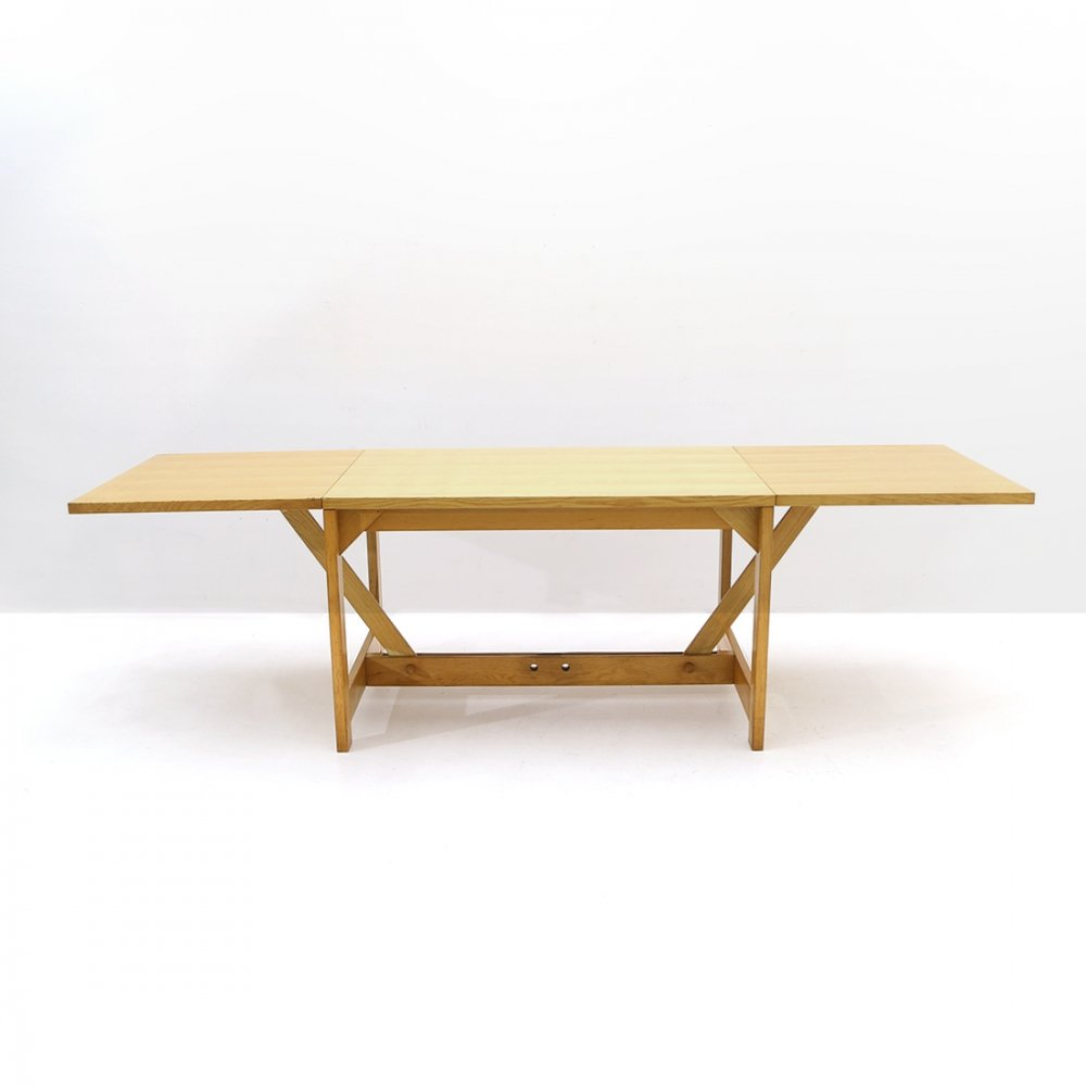 Extendable ash table by Werther Toffoloni & Piero Palange for Germa, 1970s