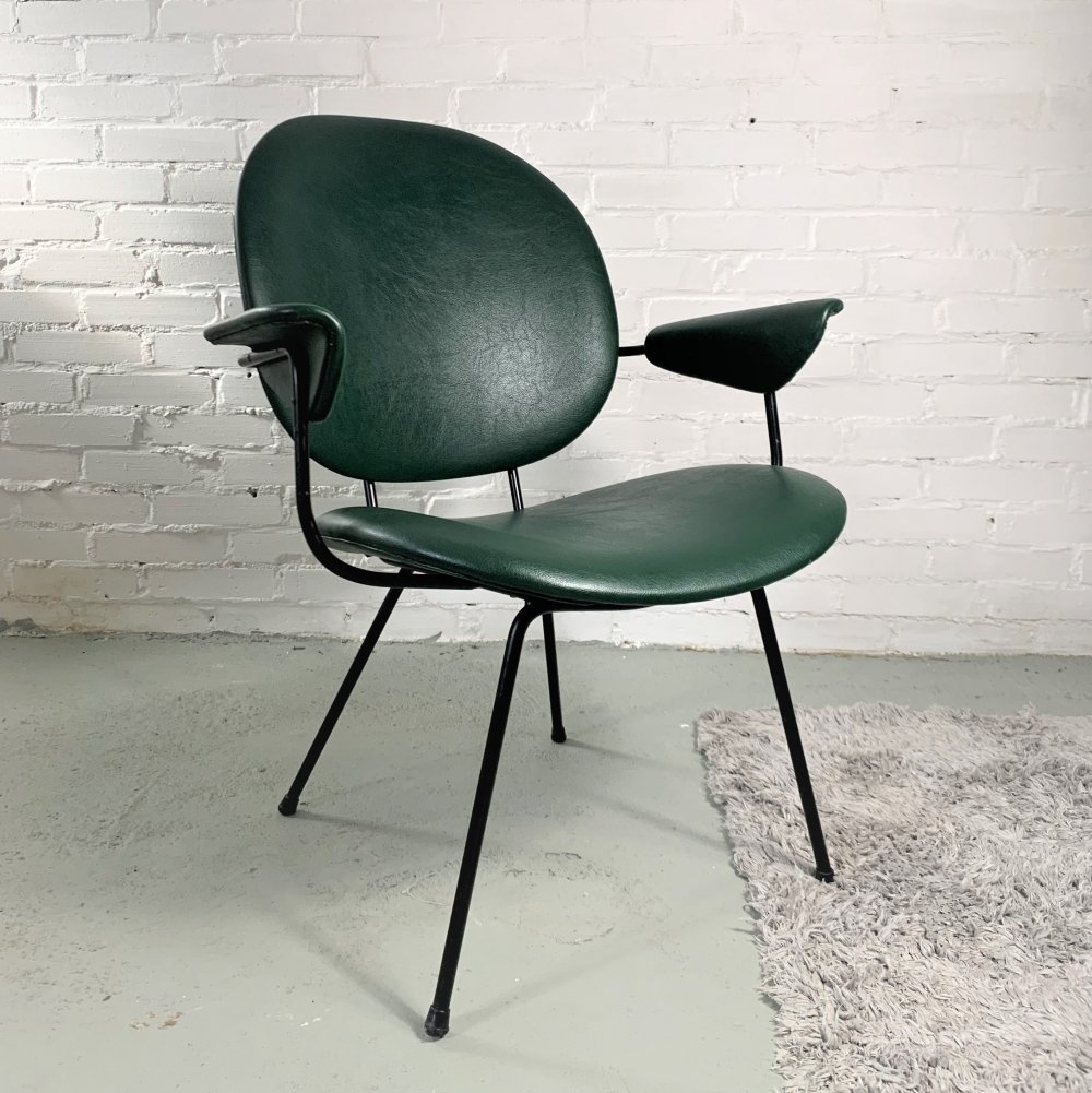 Dutch 302 Armchair by Willem H. Gispen for Kembo, 1960s